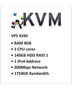 Datapaket Hosting VPS8-KVM